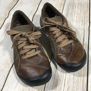 Keen Leather Oxford Shoe Presidio Casual Walking 7